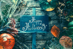 Invitation for Halloween party. Stock Photos
