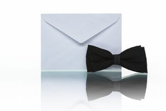 Invitation mail Stock Photo
