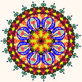 Invitation Mandala card Royalty Free Stock Images