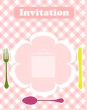 Invitation or menu Stock Photo