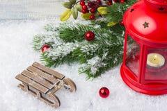 invitation new year Игрушки и оформление Тема Нового Года и рождества стоковые изображения