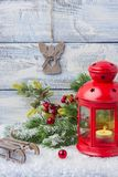 invitation new year Игрушки и оформление стоковое фото