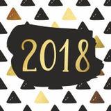 invitation new year Печатать, дизайн плакатов Стоковое Фото