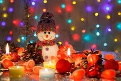 invitation new year Счастливый Новый Год и женится рождество стоковое изображение