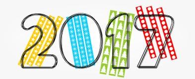 invitation new year также вектор иллюстрации притяжки corel Стоковые Фото