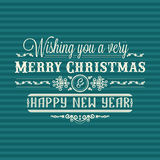 invitation new year 假日五颜六色的装饰 字法 库存图片