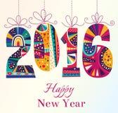 invitation new year Стоковая Фотография RF