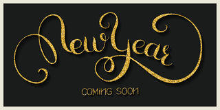 invitation new year Стоковые Фото