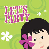invitation party απεικόνιση αποθεμάτων
