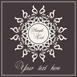 Invitation postcard Royalty Free Stock Photography
