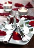 Invitation pour le dîner Image libre de droits