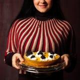 Invitation pour le dessert Photo libre de droits