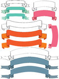Invitation Ribbon Set_eps Stock Images