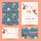 Invitation, Save the Date Card Set Stock Photos