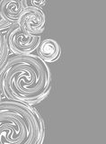 Invitation, Swirling hand drawn vector drawing Royalty Free Stock Photo