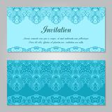 Invitation template Stock Image