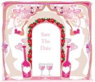 Invitation To Birthday Cocktail Party Royalty Free Stock Photos