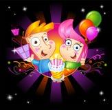 Invitation to birthday party Stock Photo