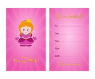 Invitation to children`s party. Royalty Free Stock Images