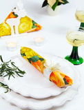 Invitation to dinner Stock Photography