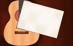 Invitation to music performance Stock Photography