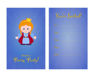 Invitation to purim party Royalty Free Stock Photography