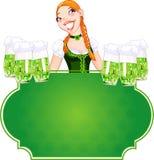 Invitation to the St. Patricks Day Royalty Free Stock Image