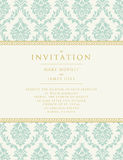 Invitation to the wedding or announcements Stock Image