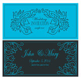 Invitation to the wedding. Illustration of invitation to the wedding Royalty Free Stock Photo