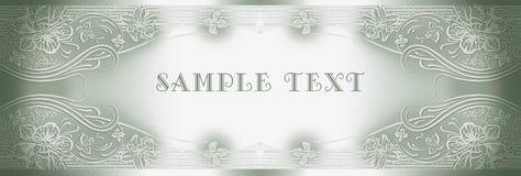 Invitation on triumph Royalty Free Stock Image