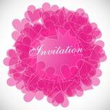 Invitation / Valentines day Royalty Free Stock Photo