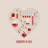 Invitation Valentines day greeting card royalty free illustration
