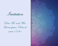 Invitation with victorian ornaments, beautiful. Set of antique greeting cards, invitation with victorian ornaments, beautiful, luxury postcards Royalty Free Stock Photos