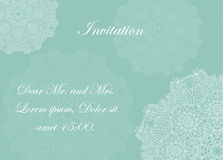 Invitation with victorian ornaments, beautiful. Set of antique greeting cards, invitation with victorian ornaments, beautiful, luxury postcards Stock Image