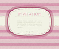 Invitation vintage background Royalty Free Stock Photography