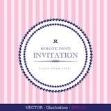 Invitation Vintage Card Stock Photos