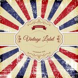 Vintage Label Royalty Free Stock Photo
