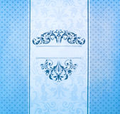 Invitation vintage label paper Royalty Free Stock Photo