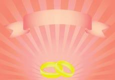 Invitation for wedding. Illustration Royalty Free Stock Image