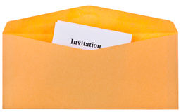 Invitations Royalty Free Stock Images