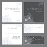 Invitations illustration libre de droits