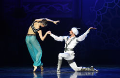 """Invite the God of light- ballet """"One Thousand and One Nights"""" Royalty Free Stock Image"""