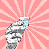 Invite para beber la tarjeta Fotografía de archivo