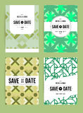 Invite template set Royalty Free Stock Image