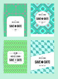 Invite template set Royalty Free Stock Photos