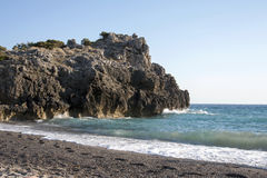 Inviting beach Stock Image