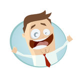 Inviting businessman Royalty Free Stock Images