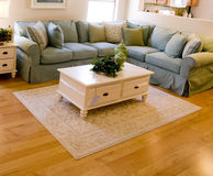 Inviting modern living room royalty free stock images
