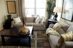 Inviting modern living room stock photos