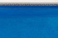 Inviting pool water Stock Images